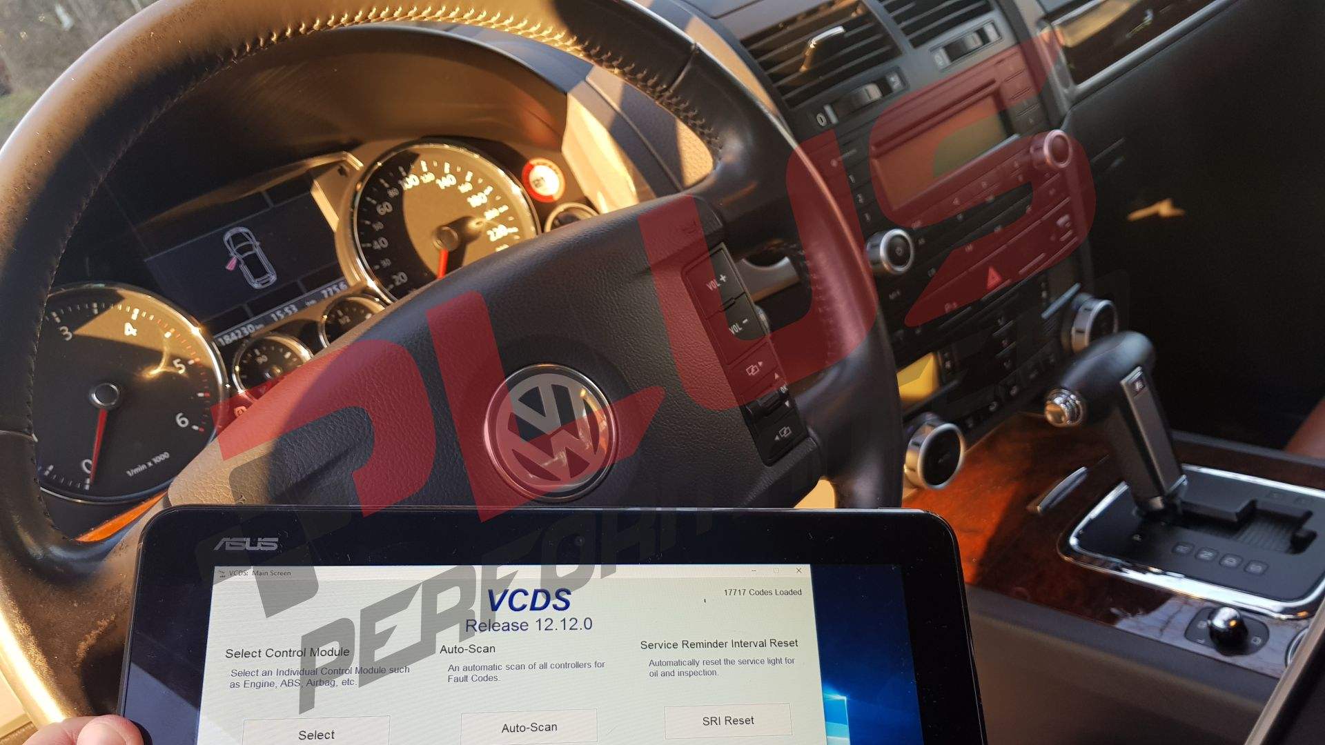 VW Touareg 3.0TDI 4Motion Diagnoza